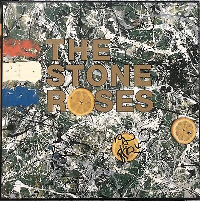 Signed Stone Roses 12' Vinyl By Ian Brown With Proof • 195£
