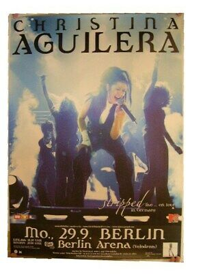 Christina Aguilera Poster German Tour Concert • 45.83£