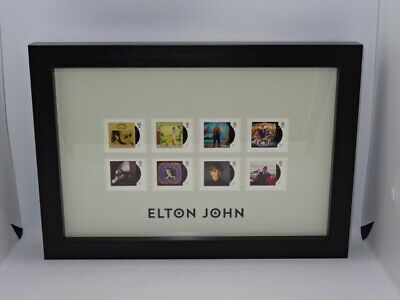 Elton John Royal Mail® Album Covers Framed Collectable Stamps • 43.95£
