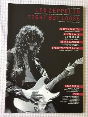 Led Zeppelin Fanzine / Magazine  Tight But Loose Issue 15 • 25£