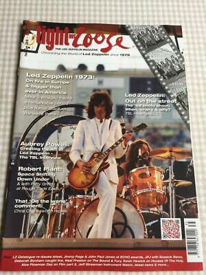 Led Zeppelin Fanzine / Magazine  Tight But Loose Issue 35 • 17£
