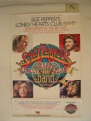 The Bee Gees Beegees Peter Frampton Poster Old • 44.42£