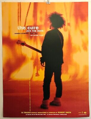 RARE The Cure Join The Dots 18 X24  Promo Poster 2004 Fiction/Rhino EXC VG COND • 13.44£