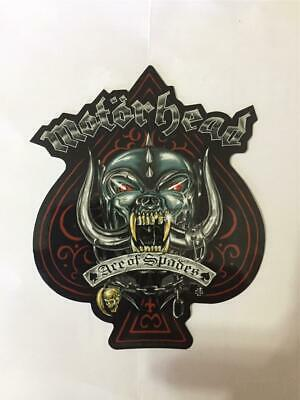 Official Licensed - Motorhead - Metallic Ace Of Spades Sticker Lemmy Metal New • 4£