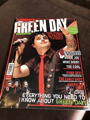 GREEN DAY Metal Hammer Collectors Edition UK Magazine 2005 (156 Pages) WH Smith • 7£