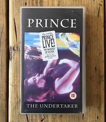 PRINCE - The Undertaker VHS Video Cassette • 30£