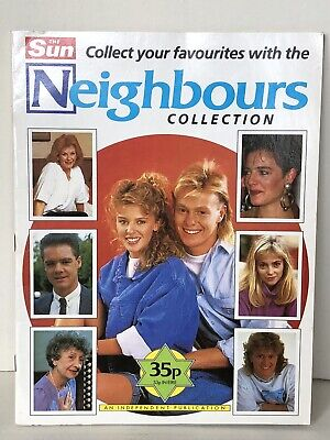 Neighbours Collection The Sun Sticker Album 1989 Complete Kylie Jason Panini • 29.99£