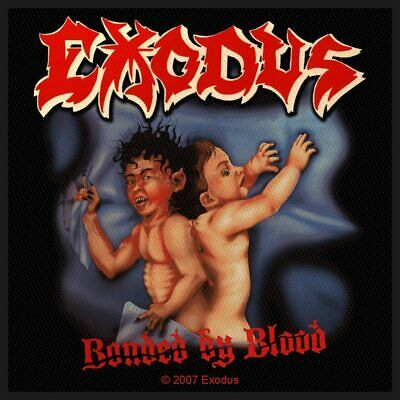 Exodus -  Bonded By Blood  - Sew On Patch - Officially Licensed - Thrash Metal • 3.49£