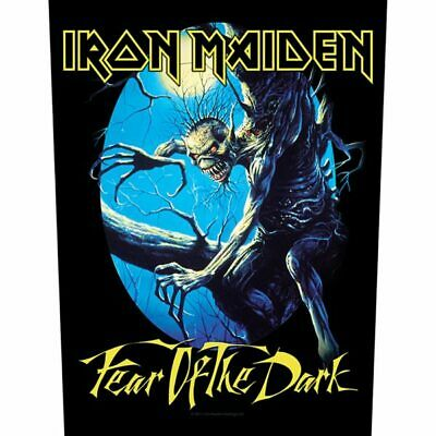 Iron Maiden -  Fear Of The Dark  - Large Size - Sew On Back Patch • 6.99£