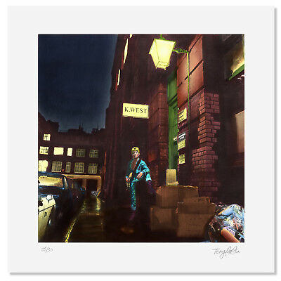 Ziggy Stardust Edition Signed Print By Original Artist Terry Pastor • 850£