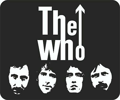 The Who Classic Line Up Quality Mouse Mat • 7.99£