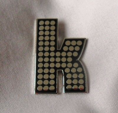 ***Brand New*** The Killers 'K' Enamel Badge. Battleborn. • 3.99£