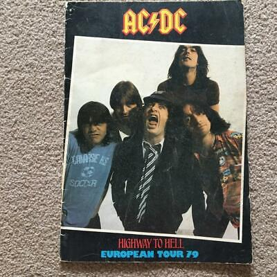 Tour Programme  AC/DC  Highway To Hell Tour 1979 Ref B • 52.50£