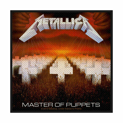 Metallica -  Master Of Puppets  - Woven Sew On Patch - Official Item  • 3.49£