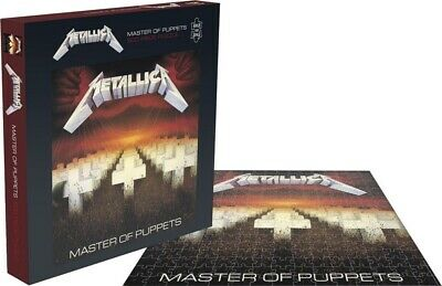 [RSAW016PZ] Metallica - Master Of Puppets (500 Piece Rock Saws Jigsaw Puzzle) • 16.95£
