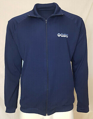Vintage Oasis Tracksuit Top Mens XL 2000 Rock Music Liam Gallagher T Shirt • 19.99£