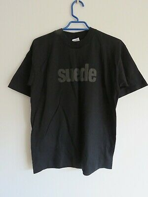 Suede 'Coming Up' 1996 Black Tour T-Shirt - UK Size S • 31£