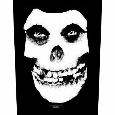 Misfits -  Skull  - Large Size - Sew On Back Patch • 6.99£