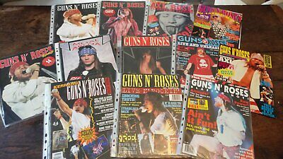 GUNS N ROSES Magazine Bundle Job Lot • 30£