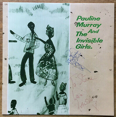 Pauline Murray & The Invisible Girls - Searching For Heaven  UK 10  P/S  Signed • 4.99£