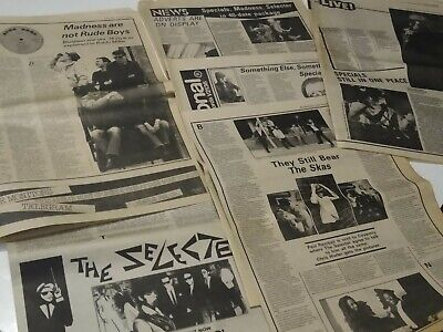 SPECIALS SELECTER MADNESS SKA Magazine Cuttings Clippings 1979 1980 • 16.50£