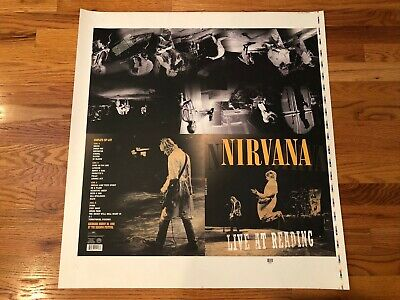 Nirvana Rare Printers Proof Sheet Poster Live At Reading England August 30 1992  • 39.48£