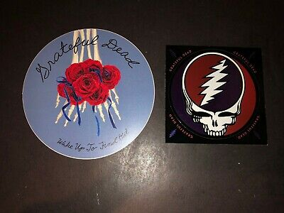 Grateful Dead Vintage Promo Sticker Decal Lot Wake Up To Find Out The Best Of  • 3.94£