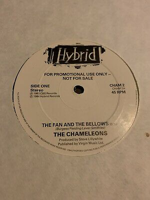 """The Chameleons. The Fan And The Bellows. 12"""" Promo • 6.50£"""
