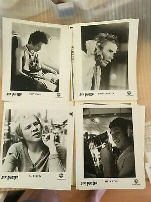 Sex Pistols, Johnny Rotten, Sid Vicious, Original Vintage Press Photo Headshots • 59.24£