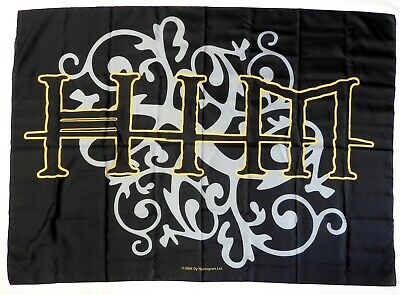 HIM 'Logo' Printed Textile Poster * Officially Licensed * • 4.95£