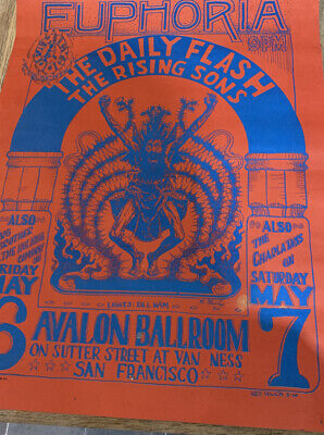 The Daily Flash The Rising Sons Concert Poster • 1.99£