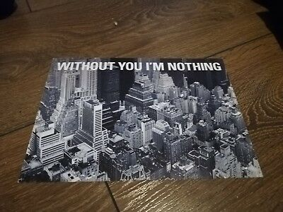 Placebo Without You I'm Nothing Postcard And Bitter End Single • 3.75£