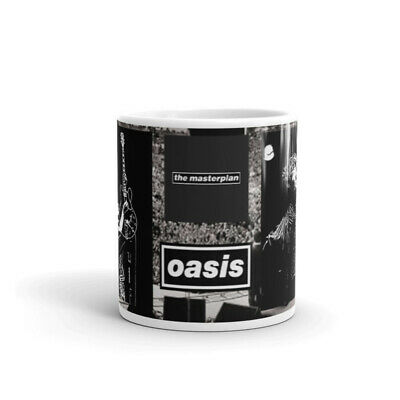 New Boxed Oasis  Liam Noel Gallagher The Masterplan Concert Mug 11 Ounce • 10£