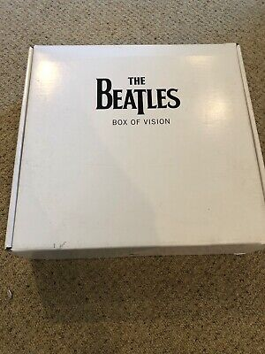 THE BEATLES BOX OF VISION Collection/storage System Apple  Genuine/Approved • 75£
