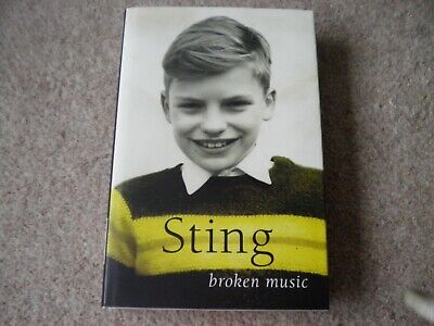Sting Broken Music Book  In Excellent Condition • 2.50£