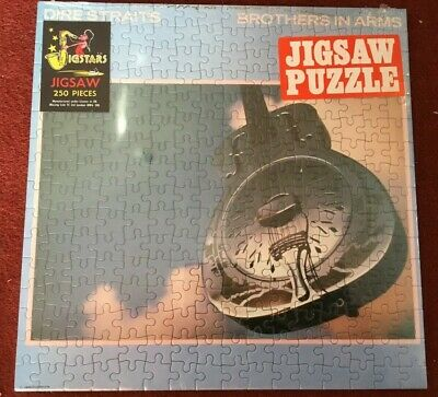 RARE Dire Straits Brothers In Arms - Jigstars Jigsaw Puzzle - New / Sealed • 14.95£