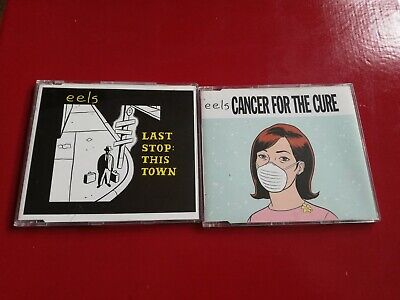 Eels Singles Last Stop This Town Cancer For The Cure CDs • 3.25£