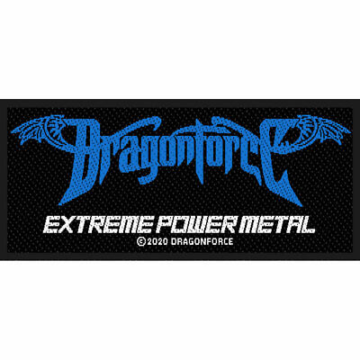 Dragonforce -  Extreme Power Metal  - Woven Sew On Patch - Official Patch • 3.59£