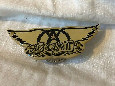 Classic Aerosmith Wings Light-Up Magnetic Concert Lapel Pin  Get Your Wings   • 8.80£