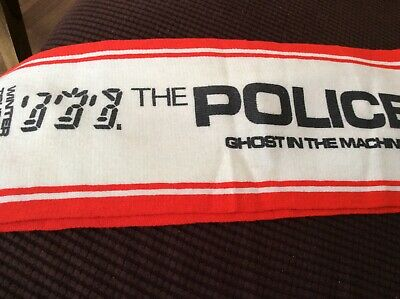 The Police Winter Tour 81 Scarf • 1£