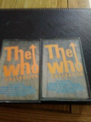 The Who Collection Vol.1 Vol.2.. Cassettes • 6.99£