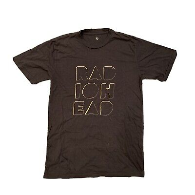 Radiohead Tour Merch T-Shirt Size M/L - A Moon Shaped Pool Tour. Rare! • 5£