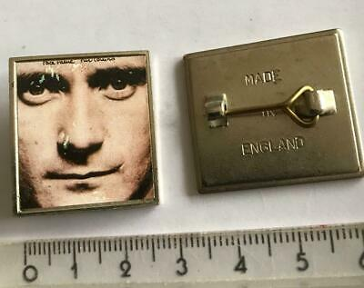 PHIL COLLINS Pin Brooch From 1990s  £0.99 Post Worldwide • 0.99£