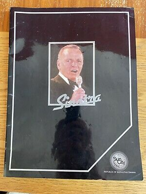 Programme For Frank Sinatra Performance At Sun City • 8.49£