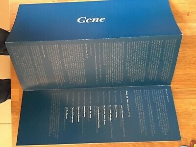 Gene - On Tour 1998 - Trifold Band Flyer • 1.45£