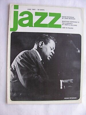 JAZZ June 1965 Oscar Peterson Charlie Parker Clarinet American Jazz In Poland  • 10£