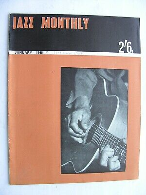JAZZ MONTHLY January 1965 Joe Harriott Booker Pittman Don Cherry Sonny Clark  • 7.50£