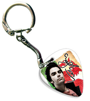 Kelly Jones Stereophonics Celluloid Guitar Plectrum Keychain -  Flag Design • 5.69£