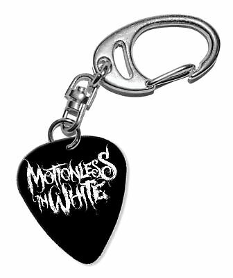 Motionless In White Guitar Plectrum Keychain - F 1 • 5.92£