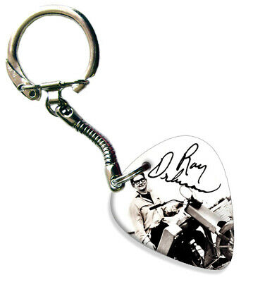 Roy Orbison -  Signed Guitar Plectrum Keychain • 5.92£